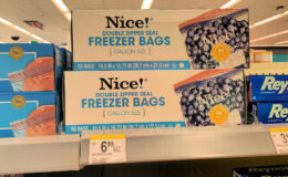 B1G2 FREE - $0.93 Nice! Storage, Freezer, Sandwich or Trash Bags at Walgreens! {No Coupons Needed}