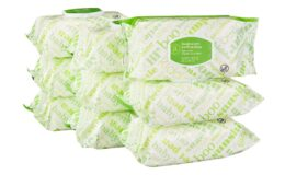 Available Now! Amazon Elements Baby Wipes, Fresh Scent, 720 Count, 9 Flip-Top Packs