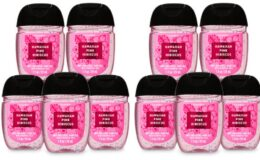 In Stock Again at Bath & Body Works: PocketBac Hand Sanitizers, 5-Pack or Hand Soaps 6 for $26 or 4 for $20