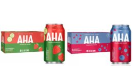 AHA Sparkling Water - 8pk/12 fl oz Cans $2 (Reg. $3.69) at Target