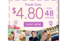 The $4.80 for 48 Hour Magazine Sale 75+ Titles to Choose From