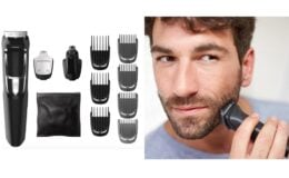 Great Price with Coupon! Philips Norelco Multigroom All-In-One Series 3000, 13 Attachment Trimmer