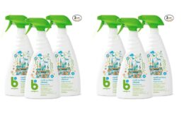 Babyganics Multi Surface Cleaner, Fragrance Free, 32oz Spray Bottle (Pack of 3) {Amazon}
