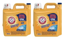 255-Oz Arm & Hammer Clean Burst Liquid Laundry Detergent $8.22 Each After $10 eGift Card at Target