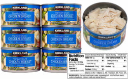 Costco:  Hot Online Deal on Kirkland Signature Chicken Breast 12.5 oz cans