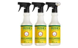 Nice Price! Mrs. Meyer's Clean Day Multi-Surface Everyday Cleaner, Honeysuckle, 16 ounce bottle (Pack of 3)