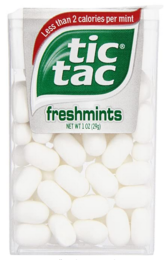In Stock! Tic Tac Fresh Breath Mints, Freshmint, 1 oz Singles, 12 Count