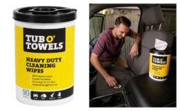 "25% off & In Stock! Tub O Towels Heavy-Duty 10"" x 12"" Size Multi-Surface Cleaning Wipes, 90 Count {Amazon}"