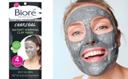 62% Off Bioré Charcoal Instant Warming Clay Mask 4 pk on Amazon!