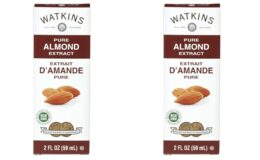 Great Price & In Stock! Watkins Pure Almond Extract, 2 Fl Oz {Amazon}