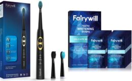 Save up to 35% + Extra 10% Off on Fairywill Whitening Products & Sonic Toothbrush on Amazon!