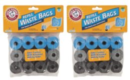 54% Off + Extra 30% Off Petmate Arm & Hammer Disposable Pet Waste Bags