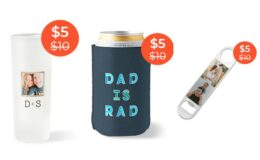$5 Personalized Bottle Openers, Shot Glasses, and Can Coolers + Free Shipping!