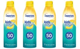 Coppertone Kids Sport 50 SPF Sunscreen only $1.22 at CVS!