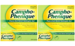 Campho-Phenique Medicated Pain & Itch Antiseptic $0.59 at ShopRite!
