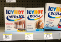 Icy Hot Patches Just $1.99 at Walgreens!