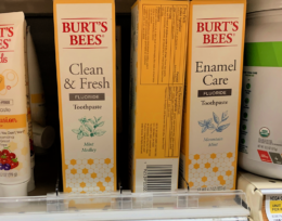 Save $2 on Burt's Bees Adult Toothpaste + Deals at Target & Walgreens