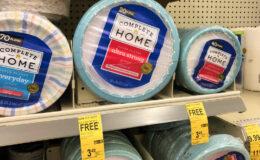 BOGO Complete Home Paper Plates & Bowls at Walgreens!