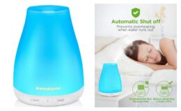Coupon + Promo Code! InnoGear Essential Oil Diffuser {Amazon}