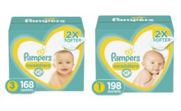 Extra $3 Off Pampers Swaddlers Disposable Baby Diapers {Amazon}