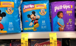 Huggies Pull-Ups Training Pants Only $3 at Walgreens! {Ibotta Rebate}