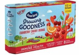 Save 50% off Ocean Spray Growing Goodness at Target - Just $1.75!