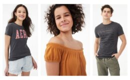 50-70% off Everything at Aeropostale! Guy's and Girl's Tees as low as $5.99 (Reg. up to $29.50)
