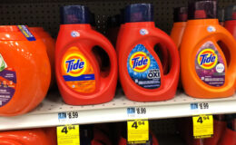 Tide Liquid Laundry Detergent & Pods Only $2.44 at Rite Aid