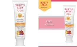 4.2-Oz Burt's Bees Kids Toothpaste 2 for $1 ($0.50 each) + Free Store Pickup at Walgreens