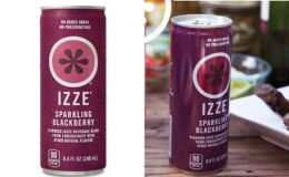 Super Price! IZZE Sparking Juice Blackberry 24 Count
