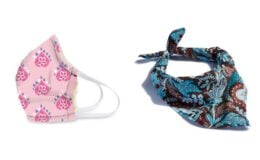 Back in Stock! Vera Bradley Cotton Face Masks $8 + New Bandana Options + Free Shipping!