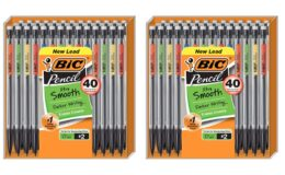 50% Off BIC Xtra-Smooth Mechanical Pencil, Medium Point (0.7 mm), 40-Count