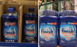 Costco:  Hot Deal on Finish Jet-Dry & Max in 1 Dishwashing Detergent - $4.00 off!