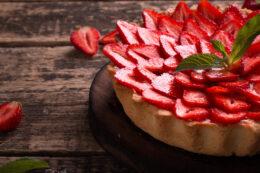 Fresh Strawberry Cheese Pie Recipe