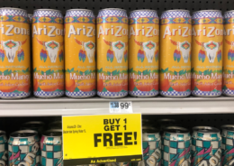 Arizona Drinks Only $0.59 at Rite Aid! {No Coupons Needed}