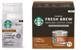 Save Up To $6 on Starbucks Coffee Products - Ground Coffee Bags Just $1.99 at Target! {Ibotta Rebate}