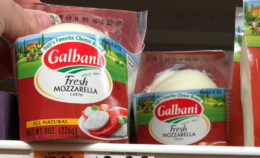 Galbani Mozzarella Cheese just $1.00 at Stop & Shop