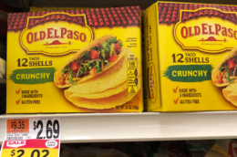 Old El Paso Shells, Refried Beans, or Chiles just $1.00 at Stop & Shop {No Coupons Needed}