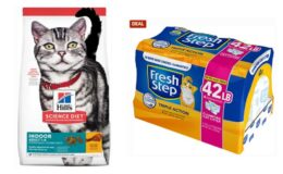 BOGO Deal at Chewy! Free Fresh Step Cat Litter ($20.99 value) when you buy Select Hill's Science Diet Dry Food!