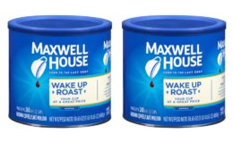 Nice Price! Maxwell House Wake Up Roast Medium Ground Coffee, Caffeinated, 30.65 oz Can {Amazon}