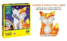 46% Off Creativity for Kids Fancy Fox Light Craft Kit {Amazon}