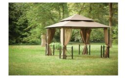 Hampton Bay 12 ft. x 12 ft. Outdoor Patio Harbor Gazebo only $299 Delivered (reg.$499) at Home Depot!