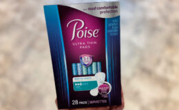 Select Poise Active Collection and Ultra Thin Pads or Liners as Low as $0.50 at CVS!