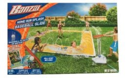 BANZAI 14ft x 14ft Homerun Splash Baseball Slide {Amazon}