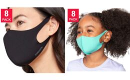 Costco: 32 Degrees Adult or Kids Unisex Face Cover, 8-pack $21.99-$24.99