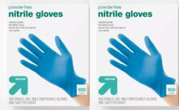 In Stock! Nitrile Exam Gloves - 100ct - Up&Up $7.99