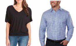 Costco Online Only: Buy 5 Clothing Items, Get $20 Off Dress Shirts $6 Each!