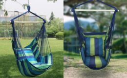 Sorbus Hanging Rope Hammock Chair Swing Seat just $25 (Reg. $40) at Woot!