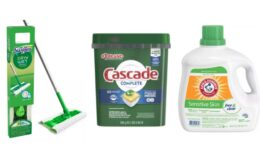 Buy 3 Household Products Get $10 Gift Card at Target - 160-Oz Arm & Hammer Detergent $4.66 Each After Gift Card