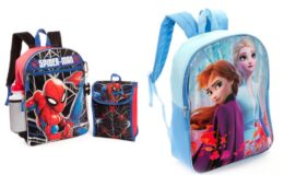 Kid's' Backpacks Starting at $8, (Marvel, Pet Patrol, Disney, & More)